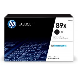 HP - Black toner 89X